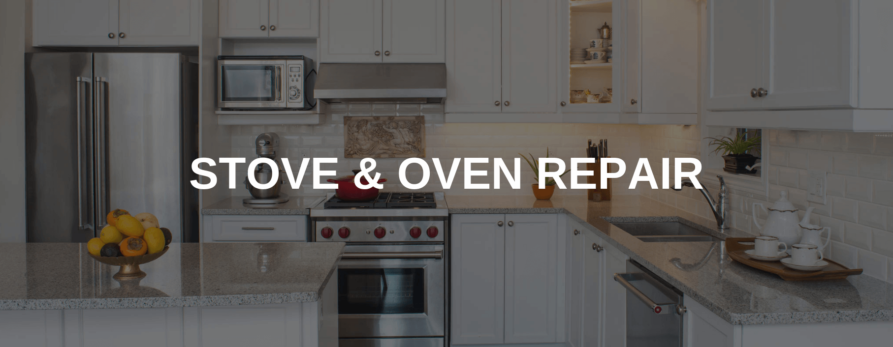 stove repair toms river